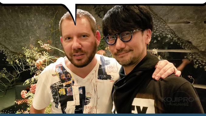 Cliff Bleszinski et Hideo Kojima, le 21 septembre 2017