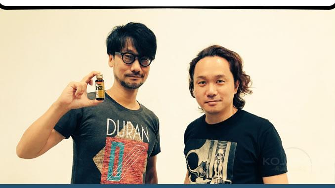 Hideo Kojima et Yoji Shinkawa, le 22 septembre 2017