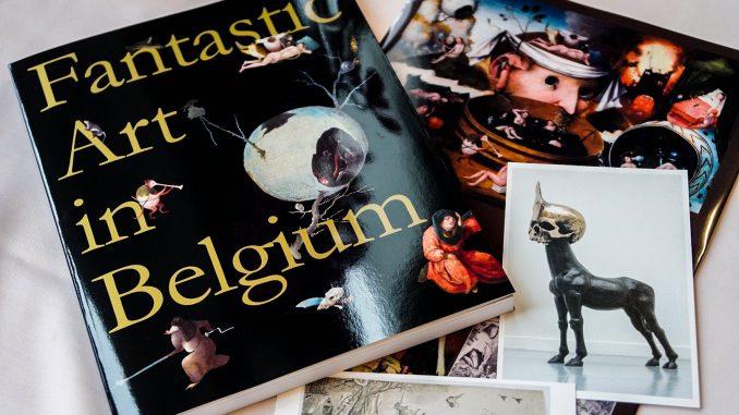 Hideo Kojima et l'exposition « Fantastic Art in Belgium », le 23 juillet 2017