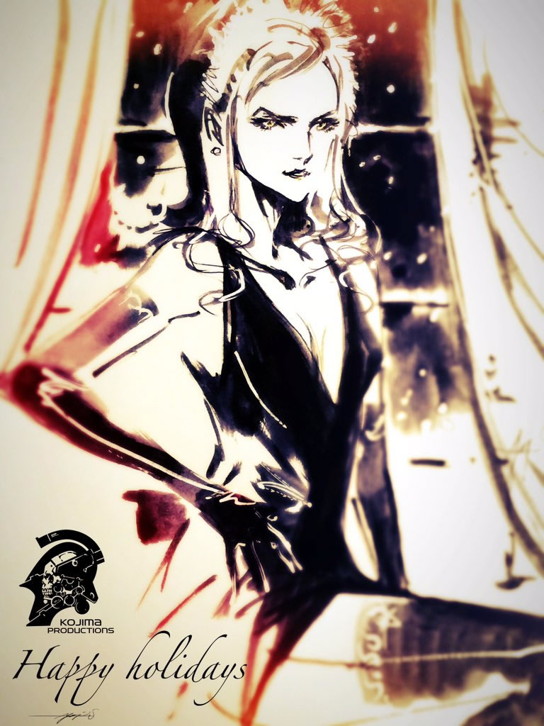 Artwork de Yoji Shinkawa pour Noël 2015