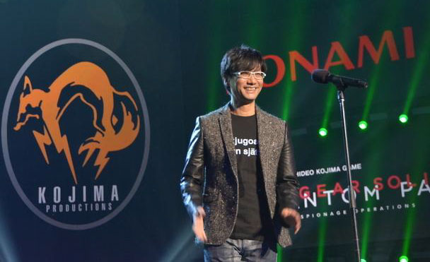 Hideo Kojima au Game Awards 2014