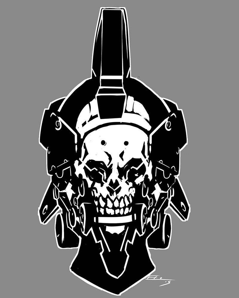 Fanart du logo de Kojima Productions par Emilio Lopez