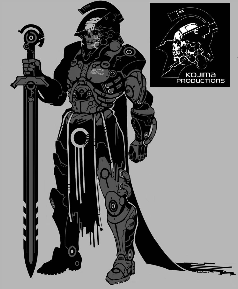 Fanart du logo de Kojima Productions par Kadabura