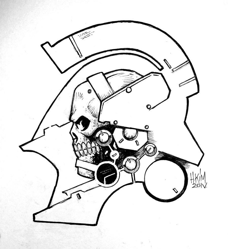 Fanart du logo de Kojima Productions par Heoh Kim