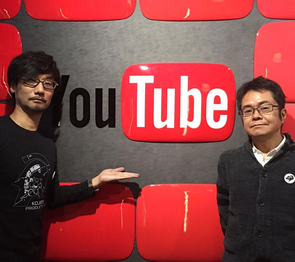 Hideo Kojima et Kenji Yano