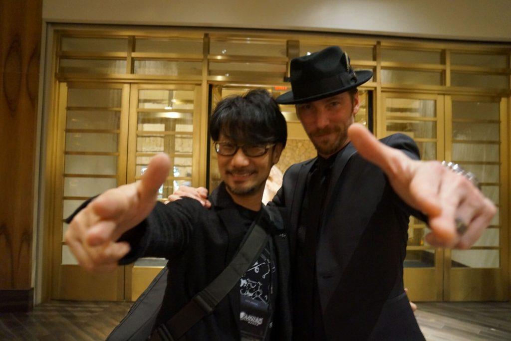 Hideo Kojima et Troy Baker