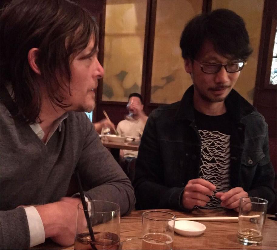 Norman Reedus et Hideo Kojima