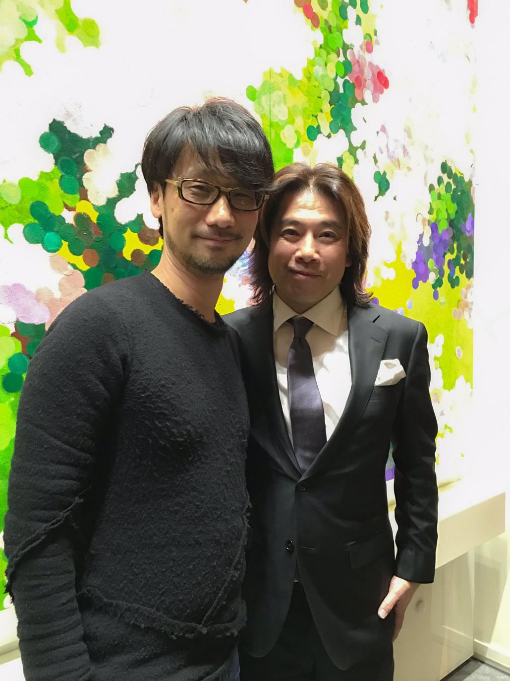Hideo Kojima et Tatsuya Minami