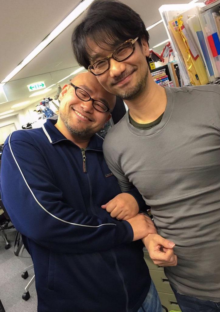 Hideki Kamiya et Hideo Kojima