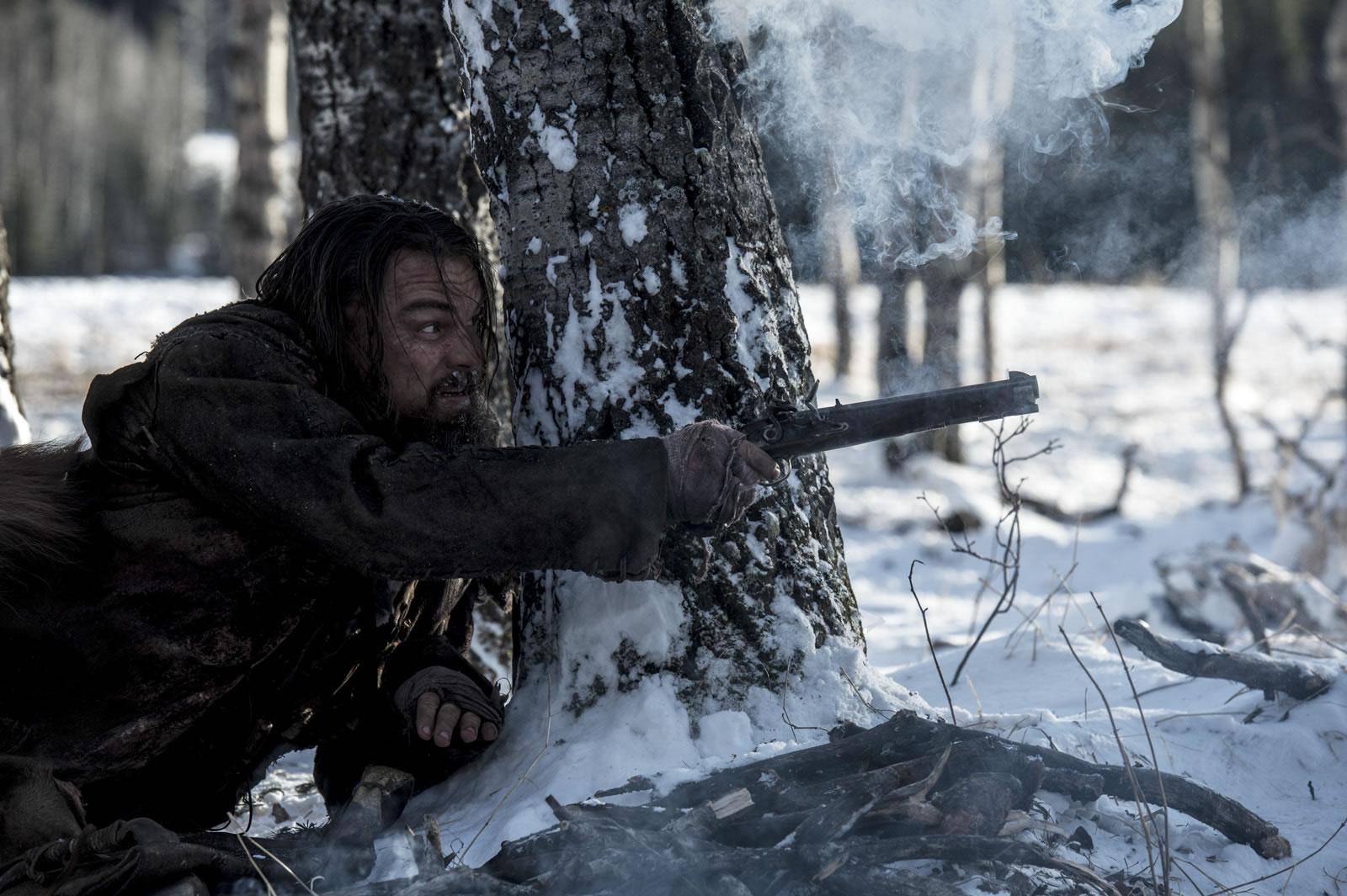 Leonardo DiCaprio dans « The Revenant » de Alejandro González Iñárritu