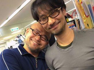 Hideki Kamiya et Hideo Kojima, le 3 mars 2016