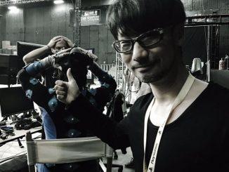 Hideo Kojima en en séances de Pcap, le 21 mars 2016