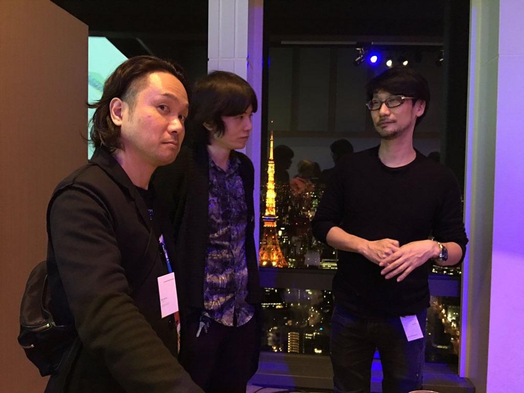 Yoji Shinkawa et Hideo Kojima