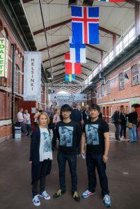 Ayako Terashima, Hideo Kojima et Ken Imaizumi au Nordic Game 2016