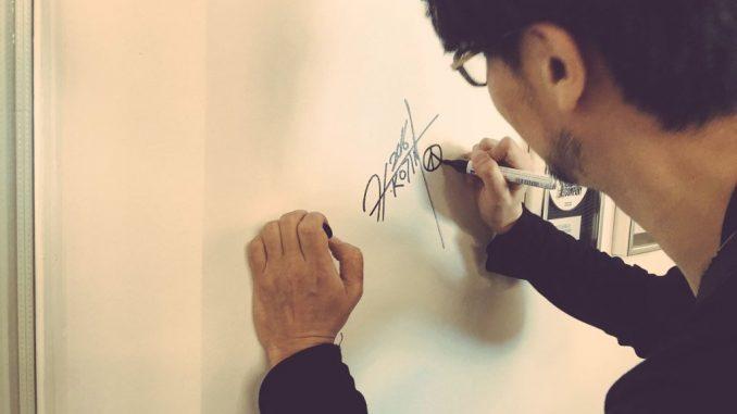 Hideo Kojima chez DICE - Stockholm (17 mai 2016)