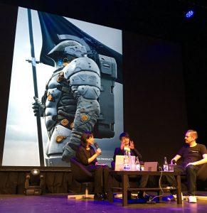 Conférence avec Hideo Kojima au Nordic Game 2016
