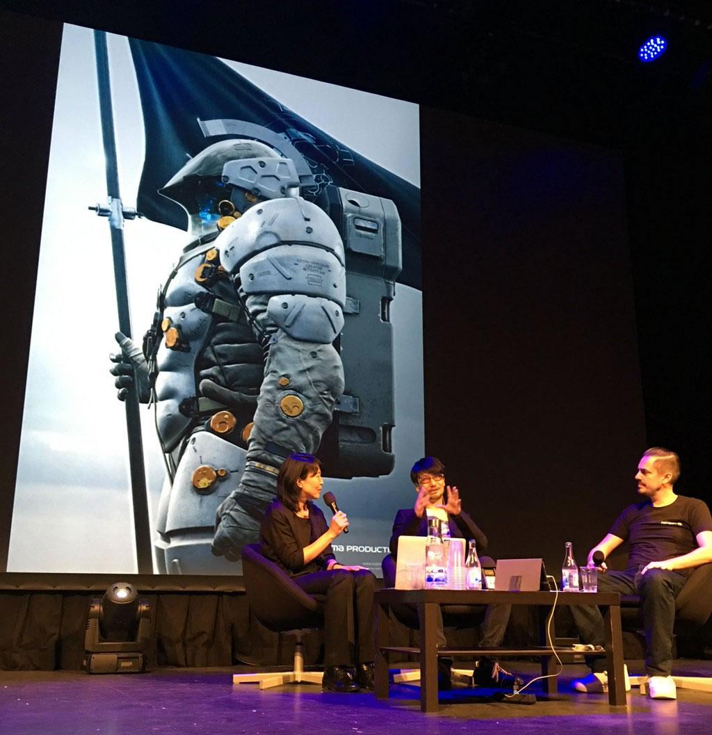 Conférence avec Hideo Kojima au Nordic Game 2016 (19/05/2016)
