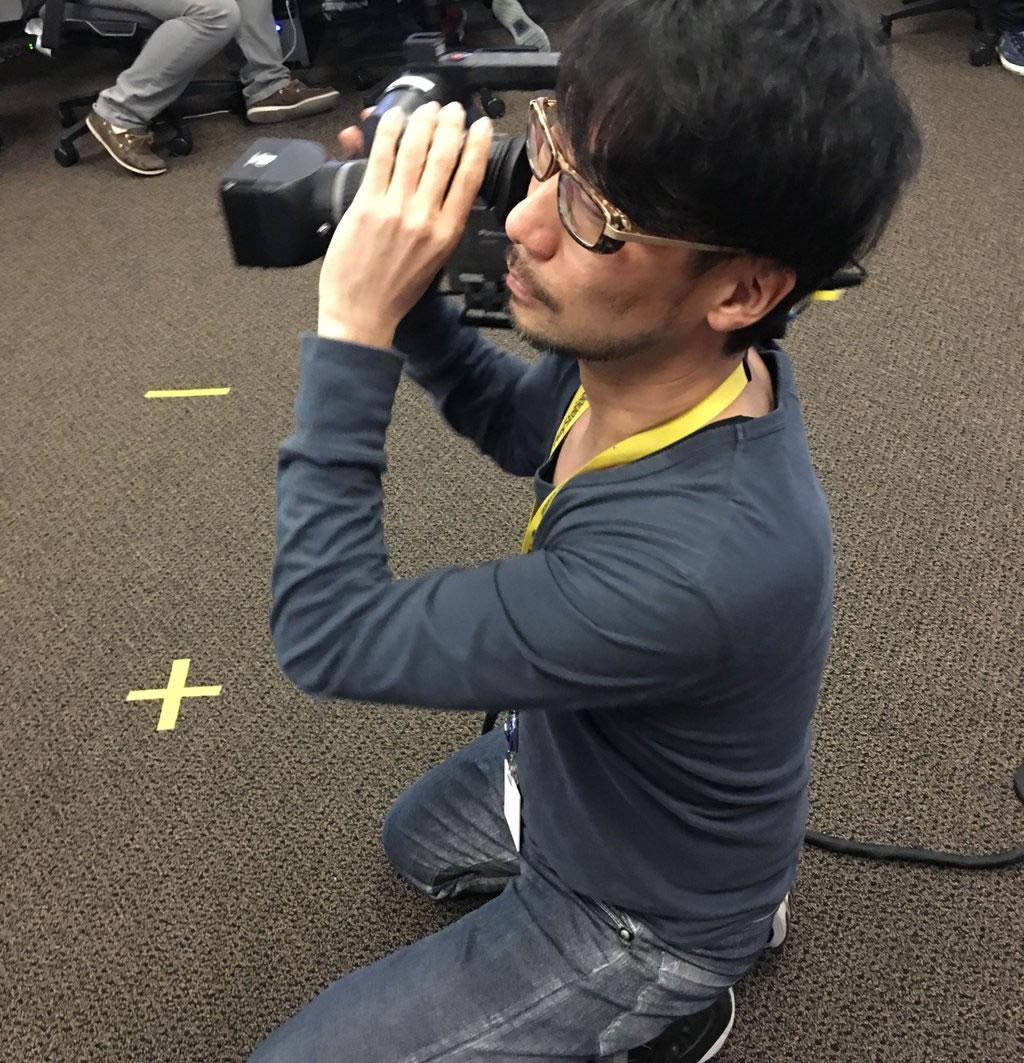 Hideo Kojima de retour en séances de Pcap