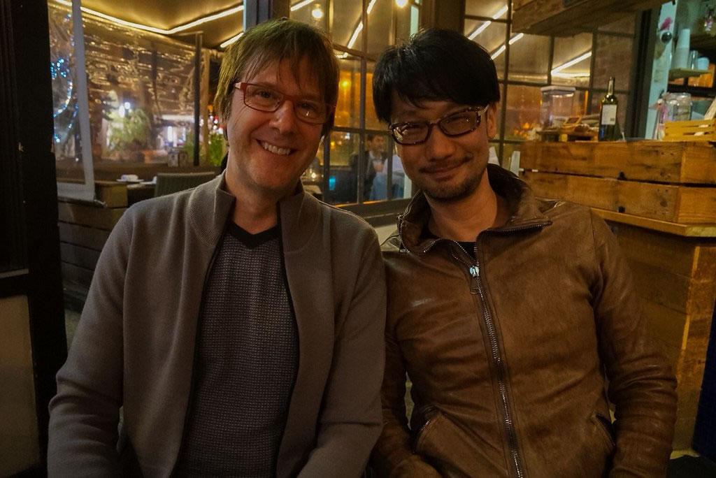 Mark Cerny et Hideo Kojima