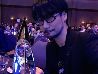 Hideo Kojima et son Hall of Fame, le 19 février 2016