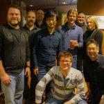 « Avec les gars de Bend Studio. Merci beaucoup. » - Hideo Kojima