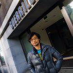 « Arrivé chez Guerrilla. » - Hideo Kojima