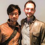 « Constantin-san de Media Molecule a été assez aimable pour nous accompagner de Londres à Guildford.  » - Hideo Kojima