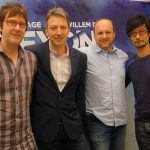 « Avec Mark-san, Guillaume-san et David Cage-san de Quantic Dream. » - Hideo Kojima