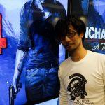 « En visite. » - Hideo Kojima