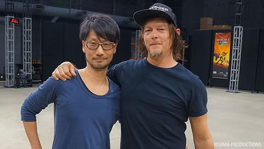 Hideo Kojima et Norman Reedus