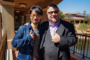 Hideo Kojima et Guillermo del Toro (2016)