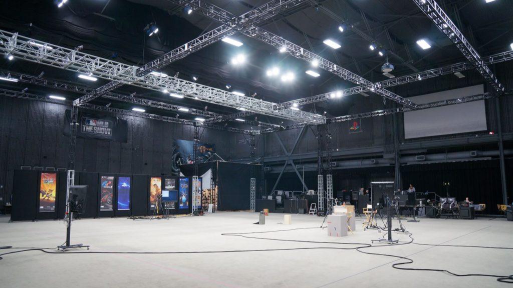 Performance capture de Death Stranding - Studio de Sony à San Diego