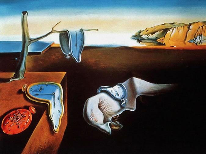 La Persistance de la mémoire de Salvador Dalí