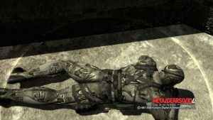 Metal Gear Solid 4 - Hands camo