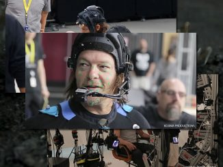 Norman Reedus en performance capture pour Death Stranding, en mars 2016