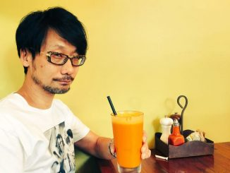 Hideo Kojima et jus d'orange