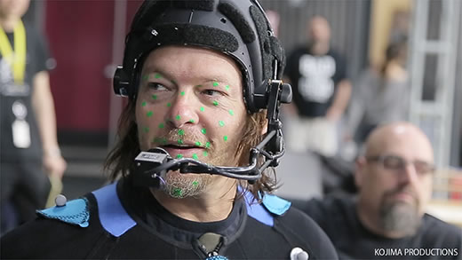 Norman Reedus - Performance Capture de Death Stranding
