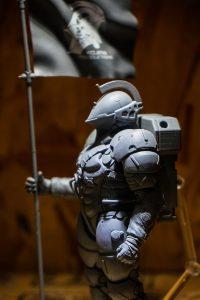 « Figurine LUDENS réalisée par Figma - Max Factory. C'est un prototype. » - Hideo Kojima (21 juillet 2016)