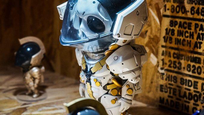 « Figurines LUDENS réalisée par Good Smile Company - Nendoroid. Ce sont des prototypes. » - Hideo Kojima (21 juillet 2016)