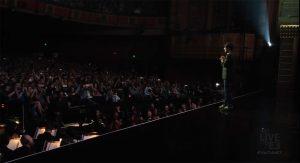 Hideo Kojima lors de la conférence de Sony à l'E3 2016
