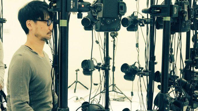 Séance de scanning 3D pour Hideo Kojima, le 6 novembre 2017