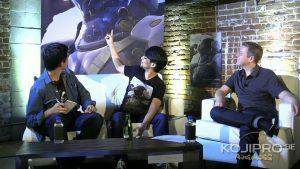 Ken Mendoza, Hideo Kojima et Geoff Keighley - San Diego 2016
