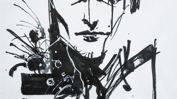 Mads Mikkelsen par Yoji Shinkawa, le 25 janvier 2017