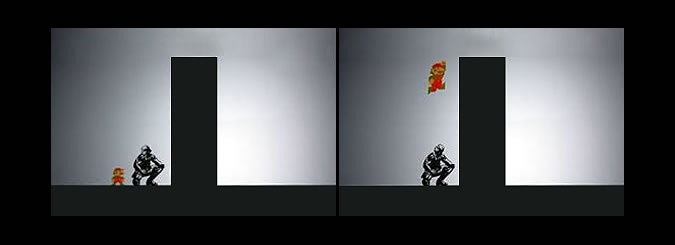 Mario et Solid Snake