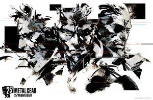 Artwork signé Yoji Shinkawa pour les 25 ans de la série Metal Gear - 2012