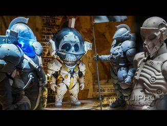 Premières figurines de Ludens dévoilées et une création originale de Yoji Shinkawa