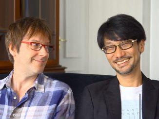 Mark Cerny et Hideo Kojima, le 13 juillet 2016