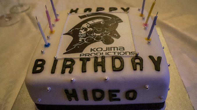 53 ans ce 24 août. C'est ma 30ème année dans la création de jeux et je continuerai à faire de mon mieux. Merci à tous ! - Hideo Kojima (24 août 2016)