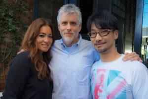 Kimberly Cooper, Kyle Cooper et Hideo Kojima - Le 24 mars 2016