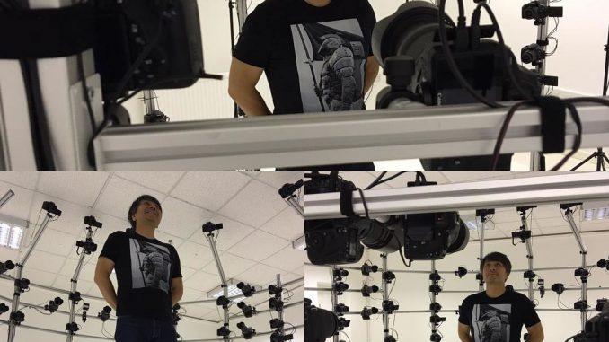 « Session 3D scanning, quelque part. » - Ken Imaizumi (21 août 2016)